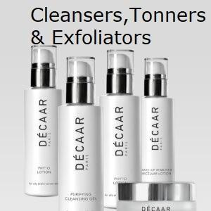 Cleansers, Tonners & Exfoliators