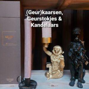 (Geur)kaarsen, Geurstokjes & Kandelaars
